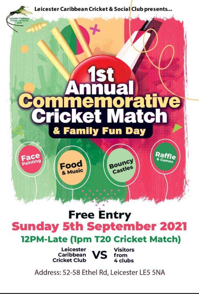 1st Annual Commemorative Cricket Match